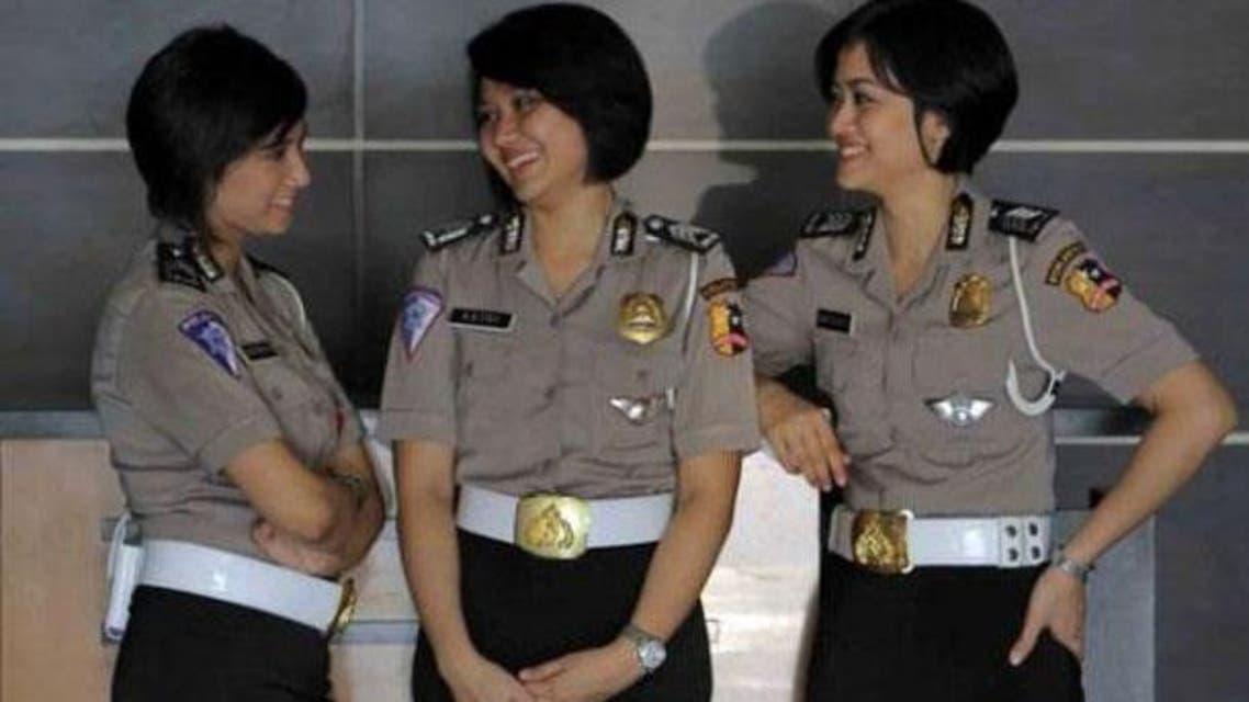عکس آرشیوی از پلیس اندونزی