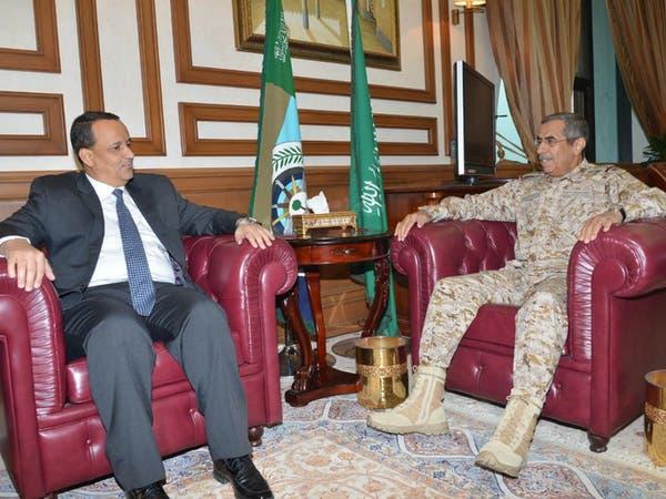 ولد الشيخ يجتمع مع رئيس هيئة الأركان السعودية