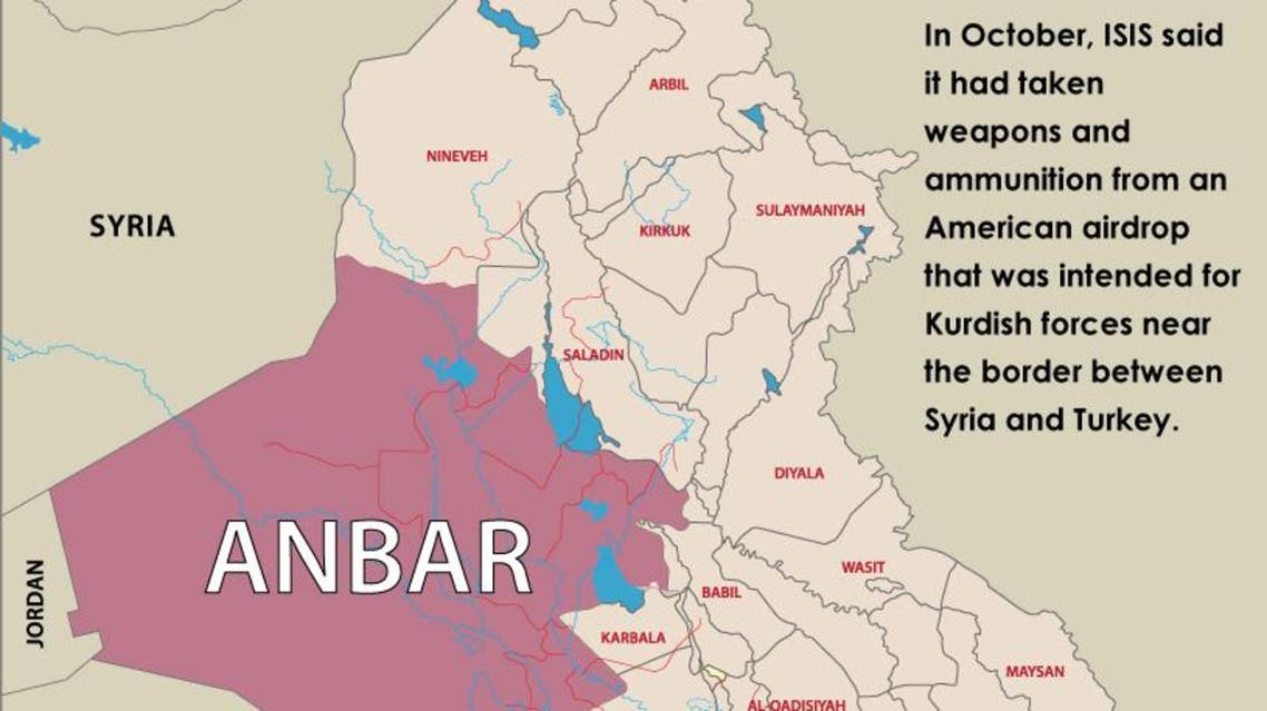 ISIS seizes U.S.-made arms in Iraq's Anbar infographic