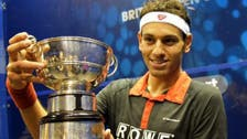 Squash player El-Shorbagy wins first British open title