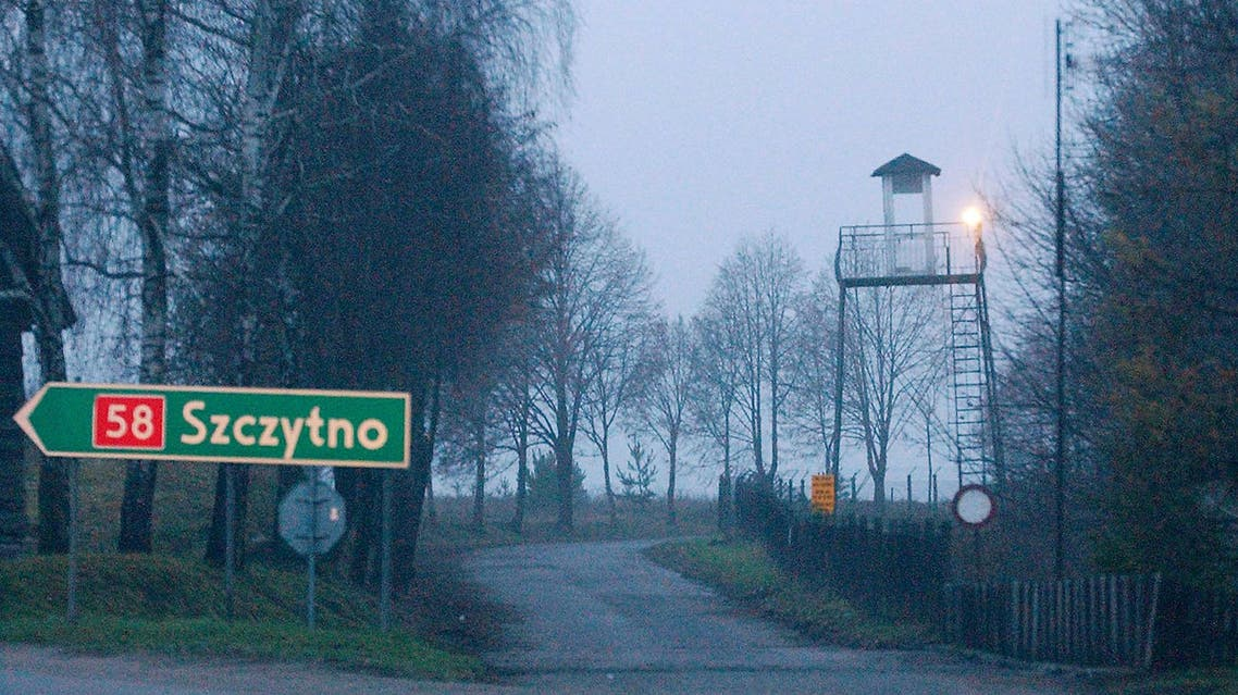 A watch tower overlooks the area near the Polish intelligence school just outside of Stare Kiejkuty, Poland. The installation has become the focal point of allegations of secret CIA prisons in Poland. (File Photo: AP)