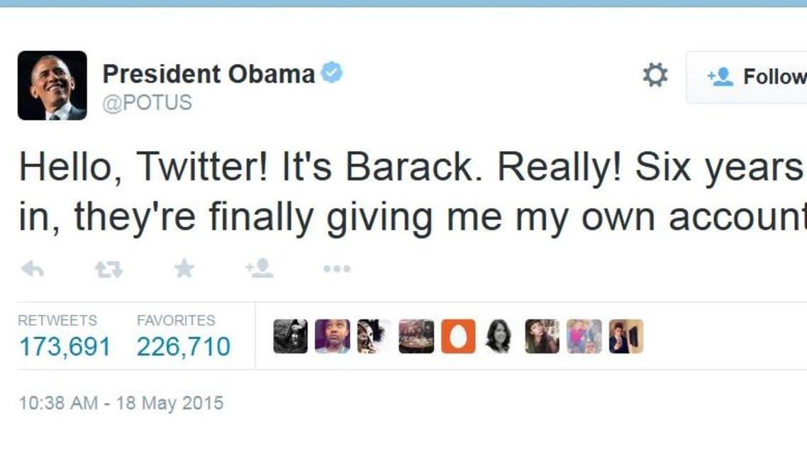 obama twitter POTUS