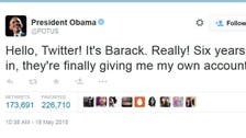 Obama gets his own @POTUS account, joins Twitter age