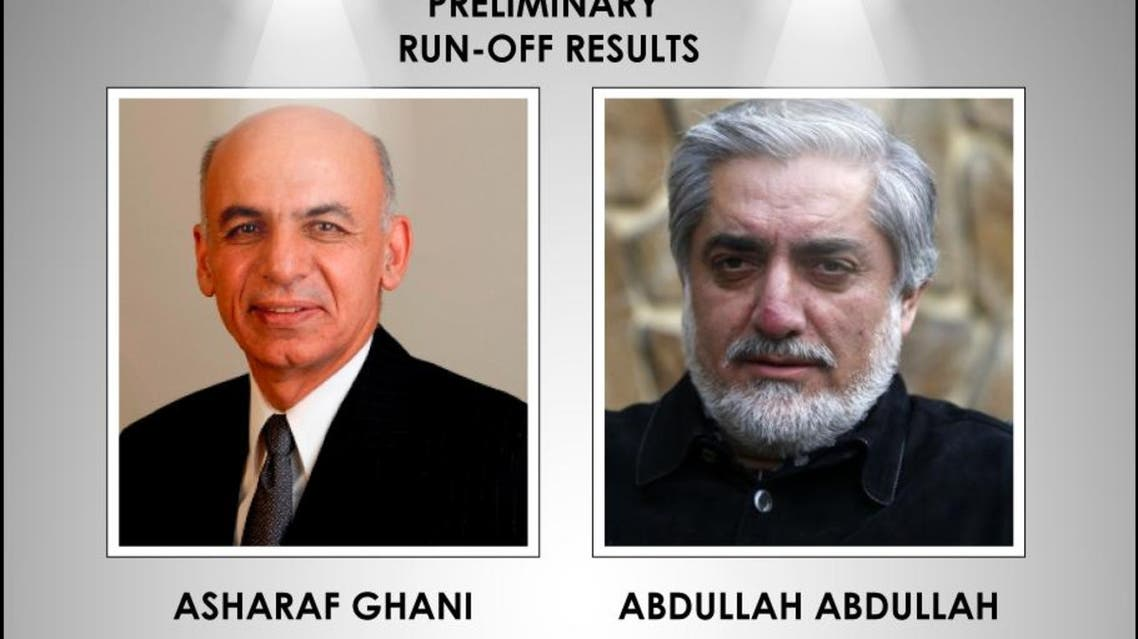 Afghanistan presidential elections 2014 infographic