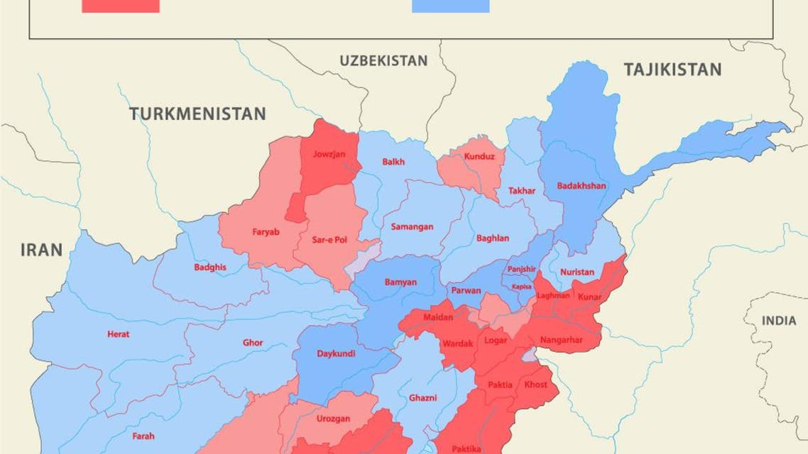 Afghan presidential election infographic