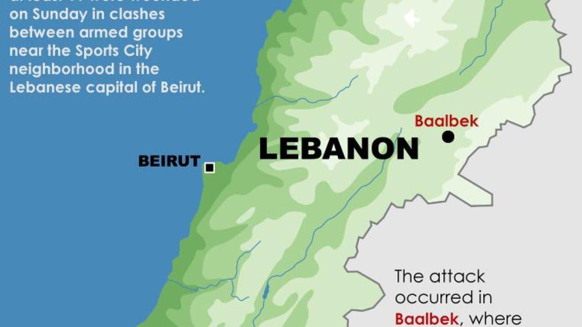 Deadly blast hits Hezbollah post in Lebanon infographic