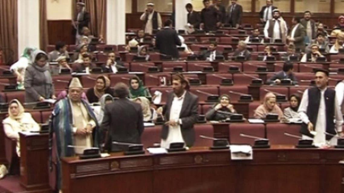 تشنج در مجلس افغانستان