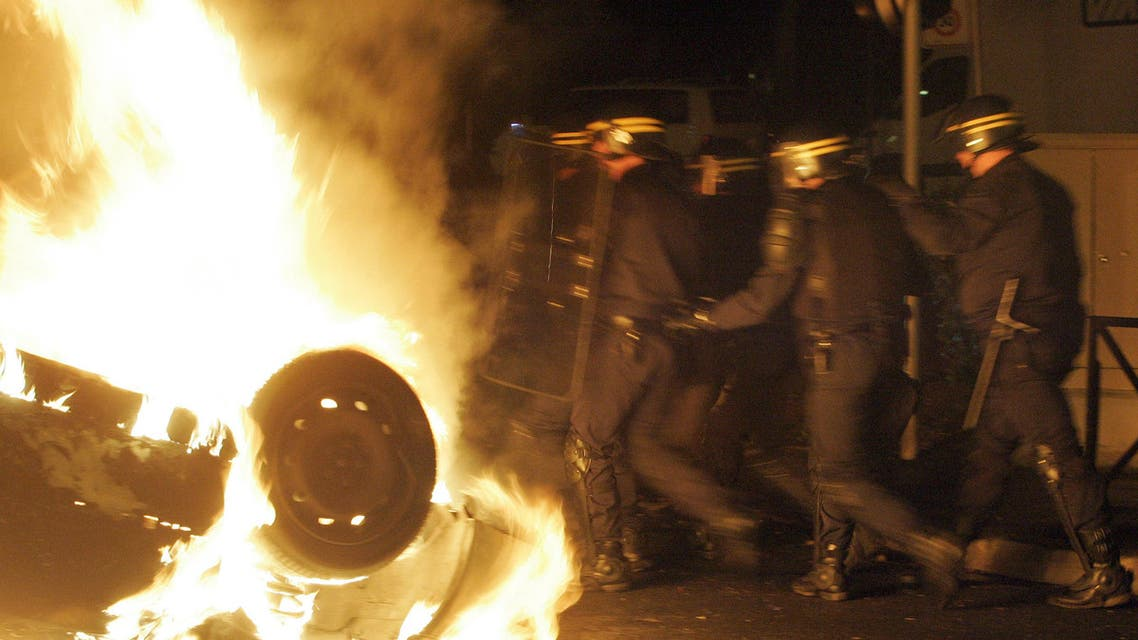 france riots AP