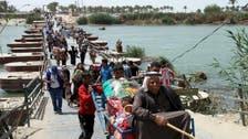 العراق..  قرار بإدخال جميع نازحي الأنبار إلى بغداد
