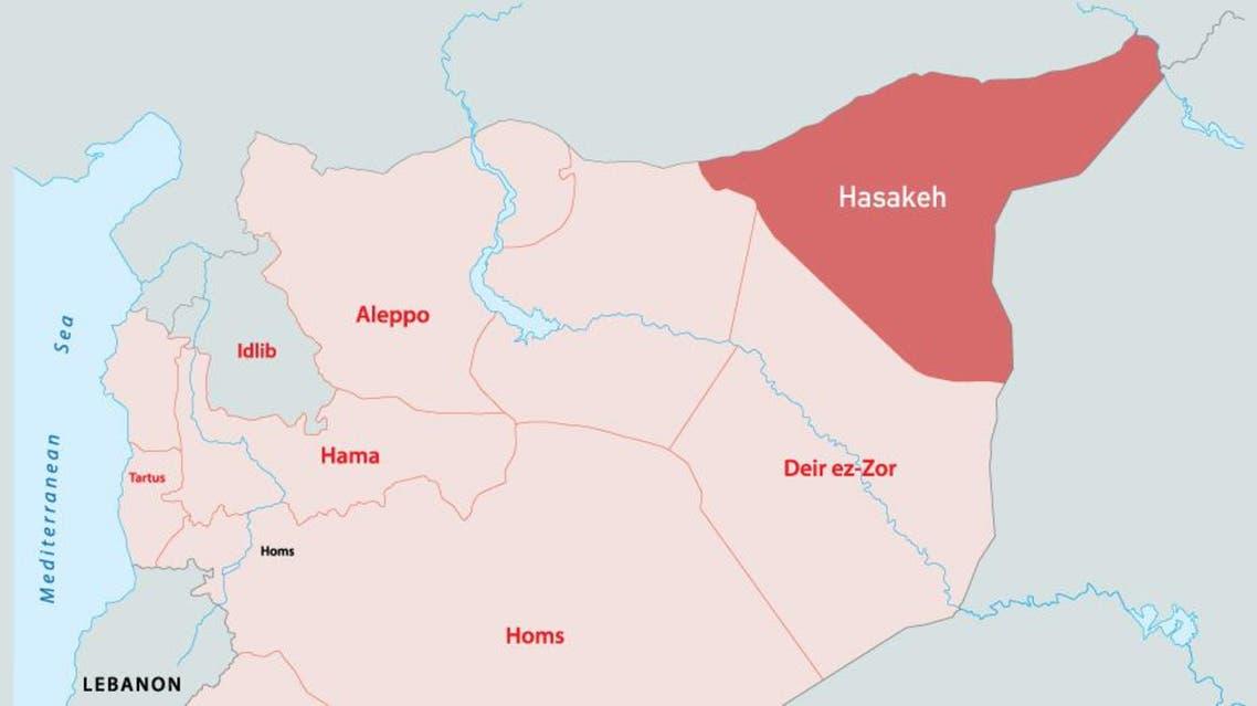 Deaths mount in Kurdish, Syrian regime clashes infographic