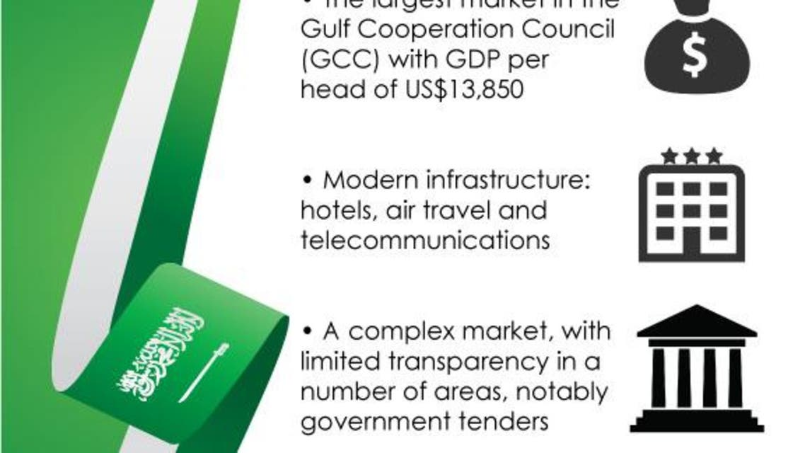 Saudi Arabia investment environment infographic