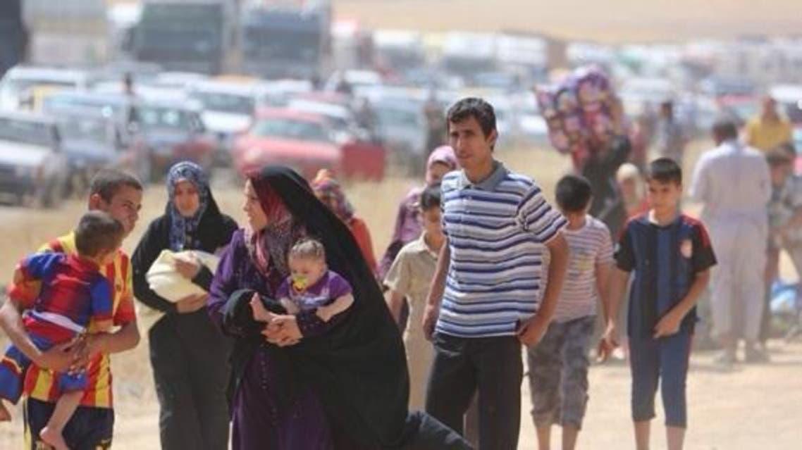 نازحون عراقيون الحدث