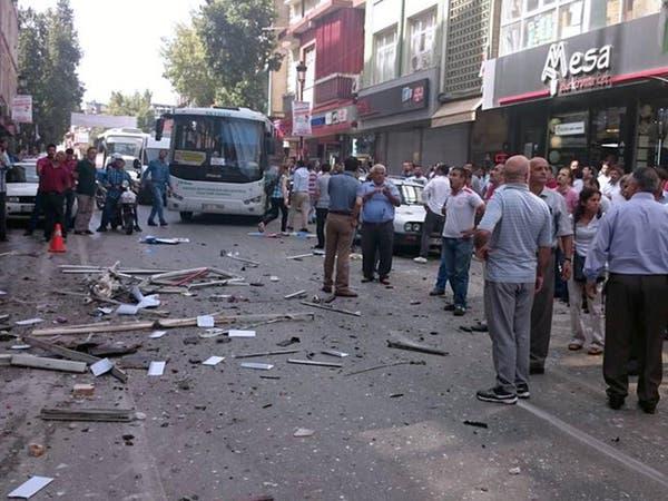 تركيا.. جرحى في انفجارين استهدفا حزب الشعب الديموقراطي