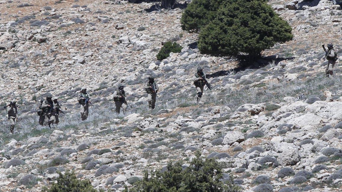 عناصر من حزب الله في القلمون - سوريا 3