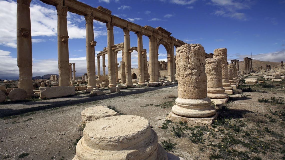 The militant offensive on world heritage site Palmyra began on May 13 and has since left more than 350 people dead. (File: AFP)