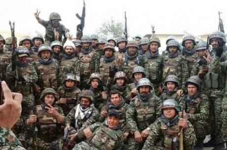من ميليشيا فاطميون المدعومة إيرانياً في سوريا