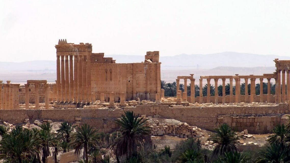 A handout picture released by the official Syrian Arab News Agency (SANA) on May 17, 2015, shows the ancient oasis city of Palmyra, 215 kilometres northeast of Damascus.AFP