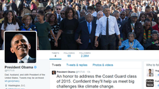"""حساب أوباما الشخصي على """"تويتر"""" يحقق رقما قياسيا"""