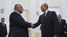 Putin: Russia, Iraq expanding military cooperation