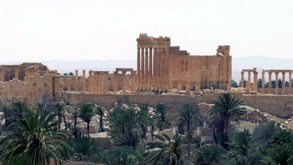 FILE - This FILE photo released on Sunday, May 17, 2015, by the Syrian official news agency SANA, shows the general view of the ancient Roman city of Palmyra, northeast of Damascus, Syria. When Islamic State fighters routed Syrian government forces and took control of the ruins of Palmyra Thursday, May 21, 2015morning, the ancient city became the latest archaeological heritage site to fall into the hands of the militant group. (SANA via AP, File)