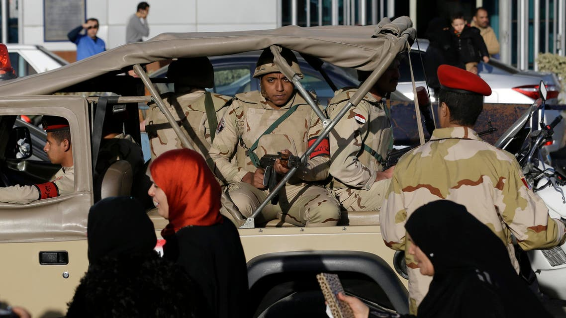 The soldier's body was later found in the area, they said, adding that he had been wounded in a gunfight earlier with militants from the Sinai Province and was abducted while being taken to hospital. (File photo: AP)