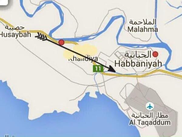 داعش يهاجم الخالدية للوصول إلى الحبانية شرق الرمادي