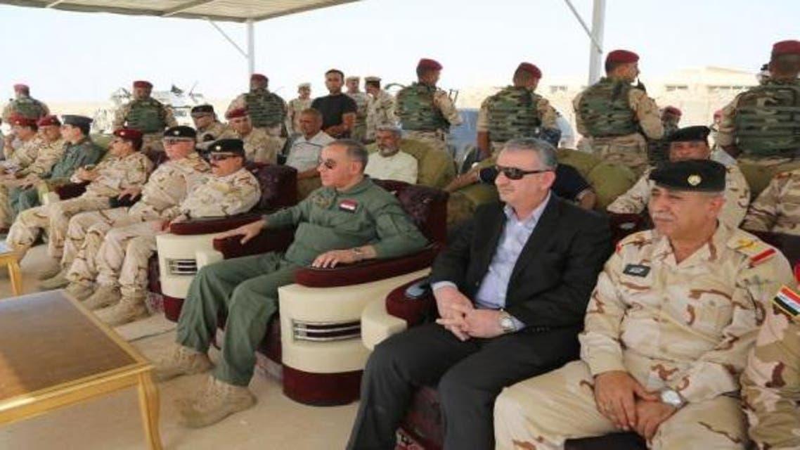 وزير الدفاع العراقي - العبيدي - جولة ميدانية