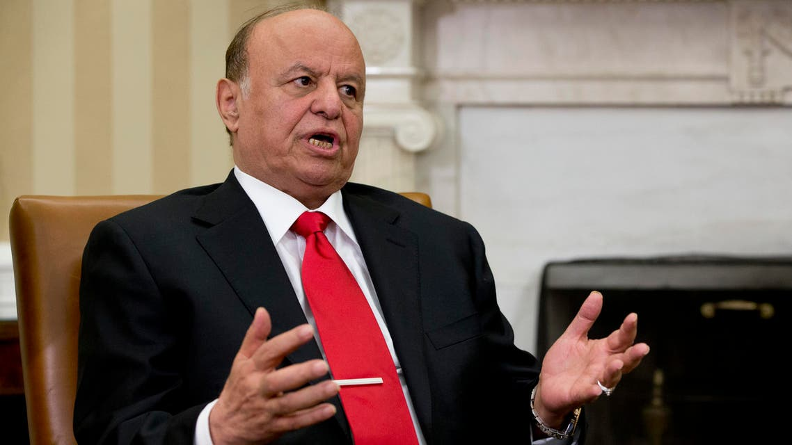 While in favor of Thursday's talks, Hadi insisted the United Nations press the Houthis to pull back from regions they captured across Yemen. (File: AP)