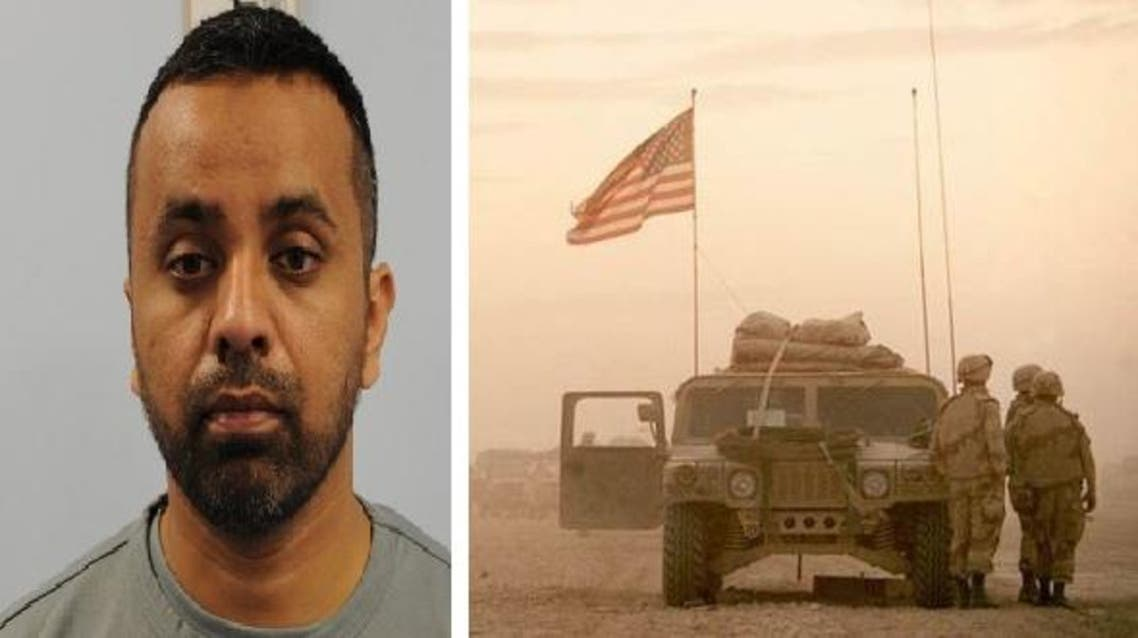 Anis Abid Sardar, 38, was accused of assembling bombs in Syria that were planted on the western outskirts of Baghdad. AFP
