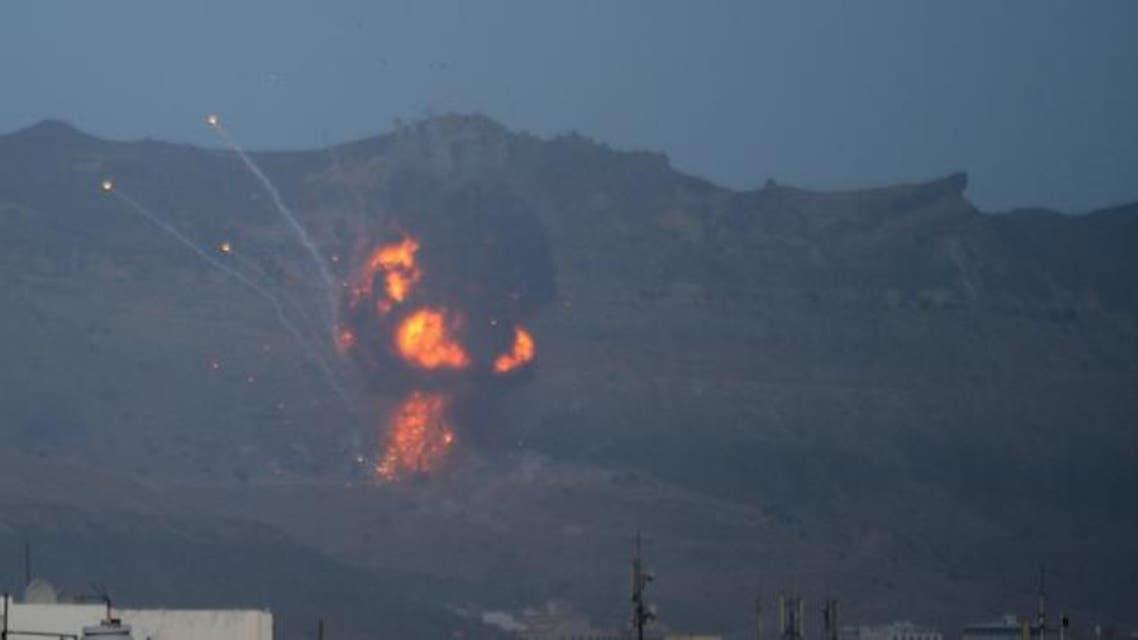 قصف الحوثيين في صنعاء