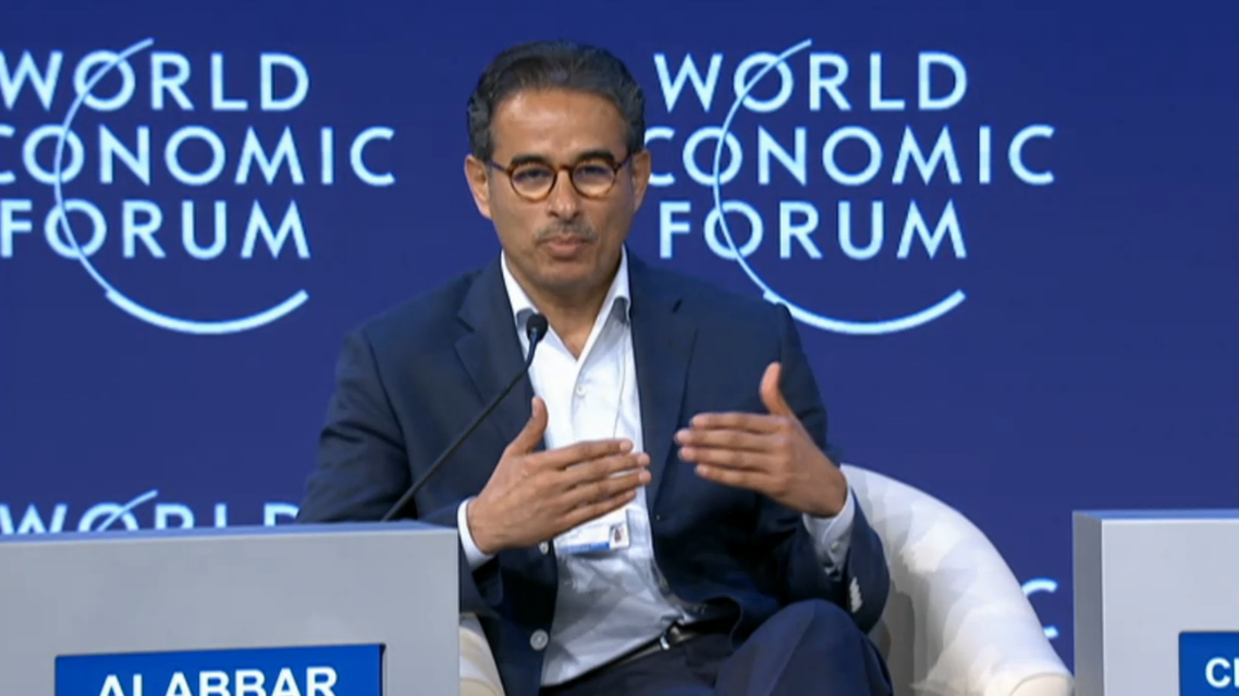 Alabbar spoke on Friday at a panel discussion at the World Economic Forum on the Middle East and North Africa 2015. (Photo courtesy: WEF)