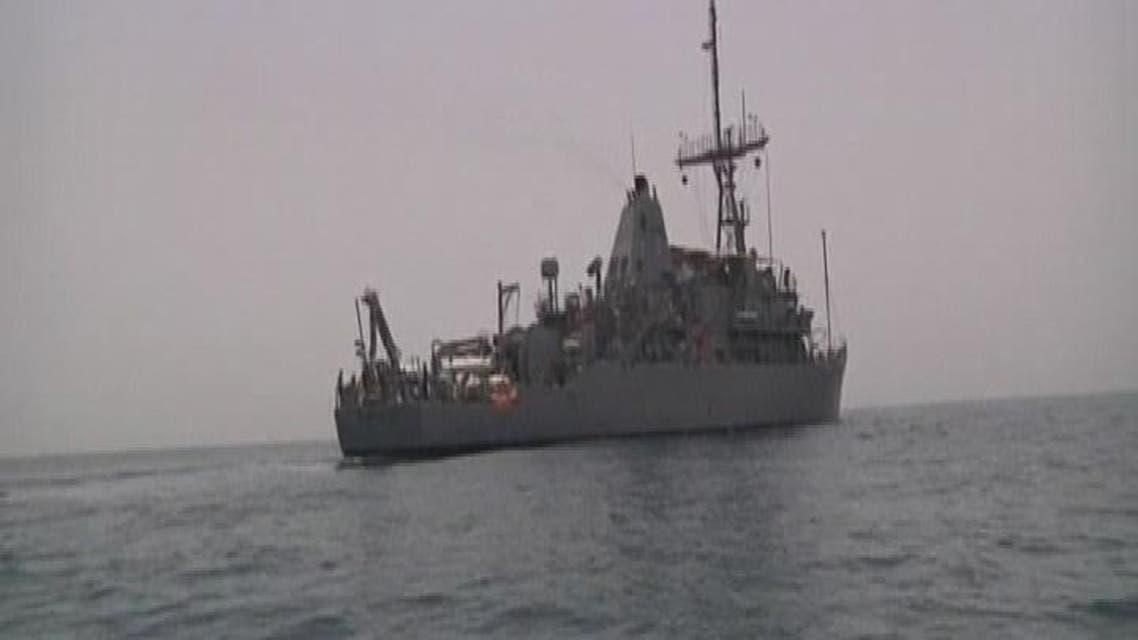 THUMBNAIL_ سفينة إيران المتجهة إلى اليمن ترسو في جيبوتي للتفتيش