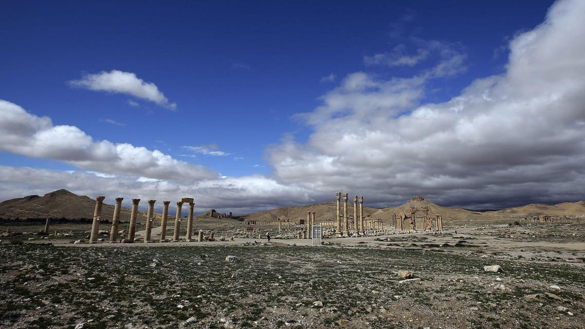 The militant offensive on world heritage site Palmyra (File: AFP)