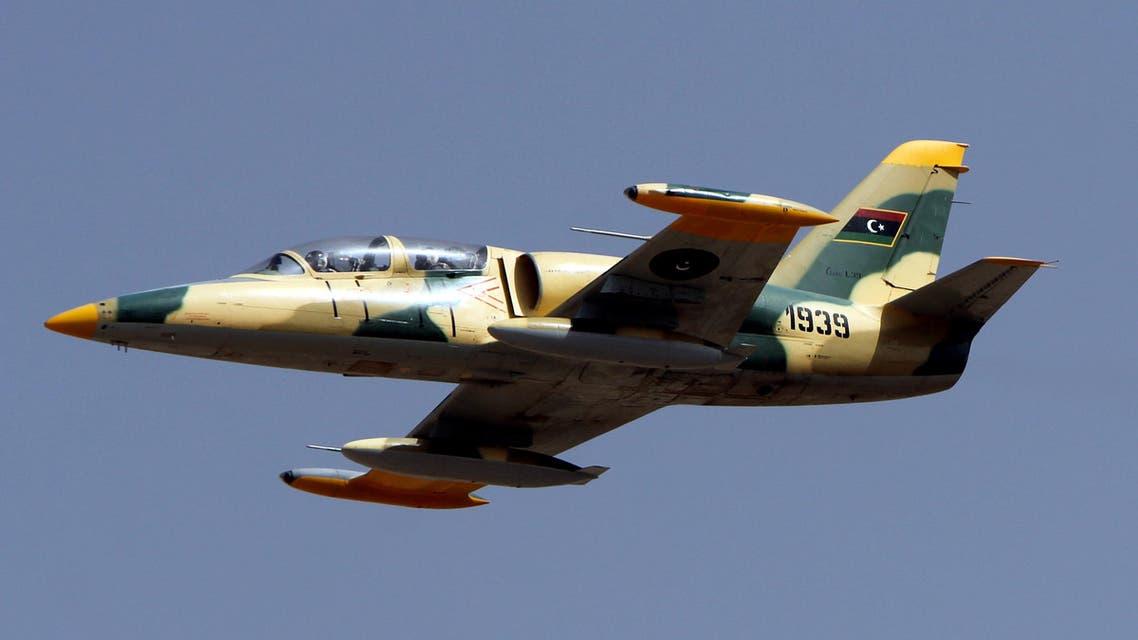 Libya libyan war plane jet air force (File: AFP)