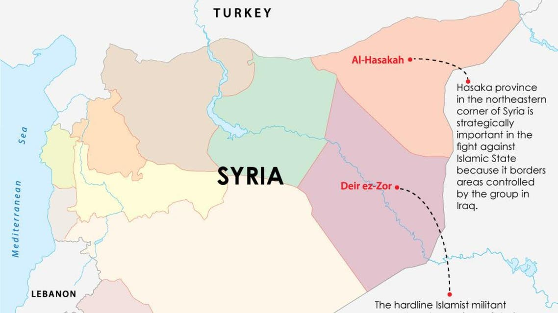 Syrian Kurds advance towards ISIS stronghold in northeast infographic