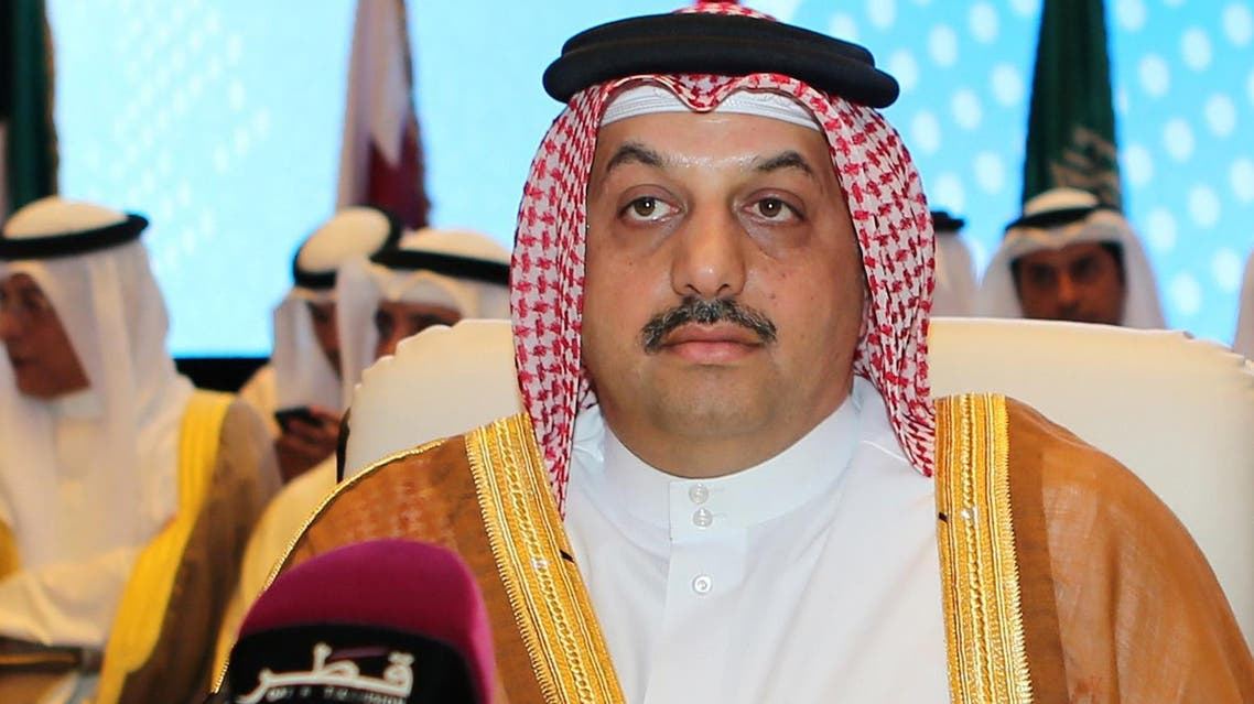 Qatari Foreign Minister Khalid bin Mohamed al-Attiyah attends the 24th session of the joint Gulf Cooperation Council (GCC)-EU ministerial council meeting on May 24, 2015 in the Qatari capital Doha. AFP