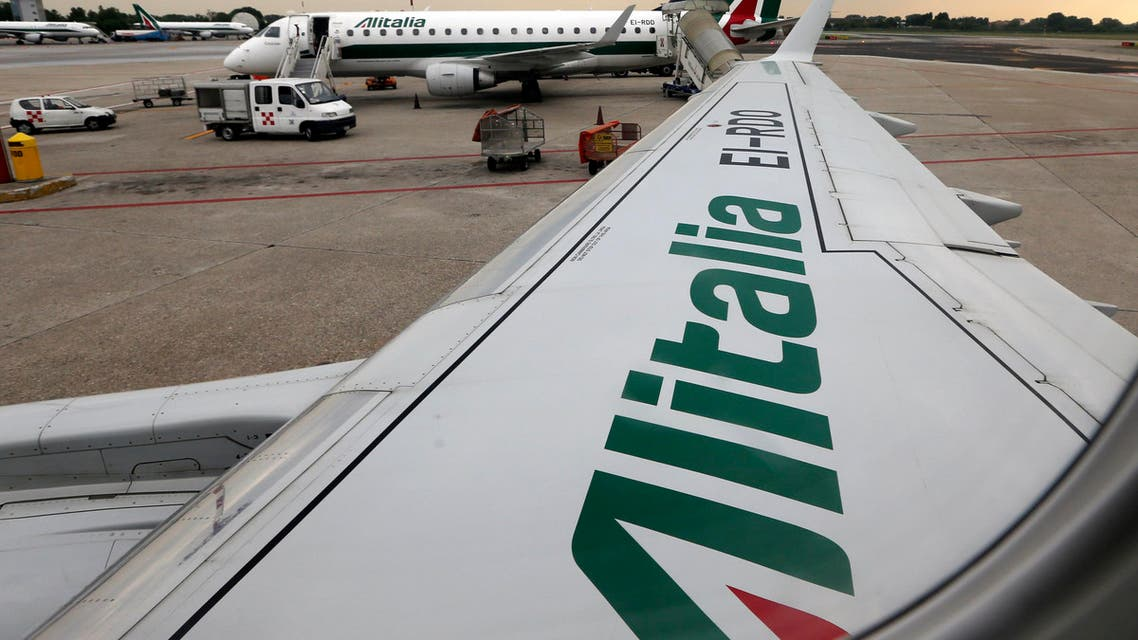 The strike affects Alitalia and its regional subsidiary Cityliner but excludes the airports of Bari, Brindisi and Genoa. (AP)