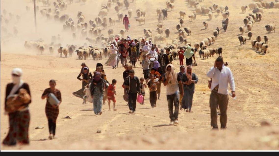 ISIS frees Yazidi captives infographic