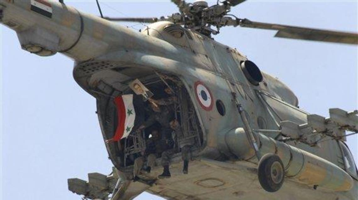 helicopter syria