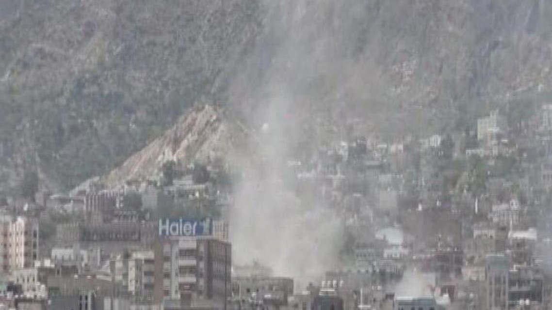 THUMBNAIL_ قصف غير مسبوق لميليشيا الحوثي على أحياء تعز