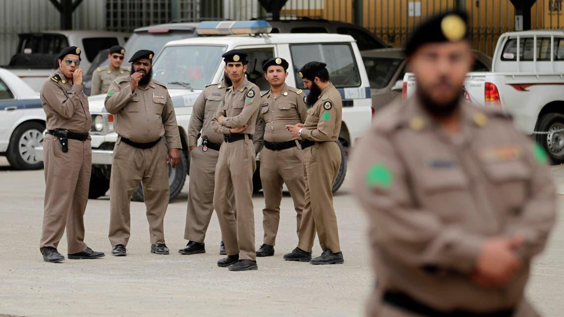 Saudi police AP