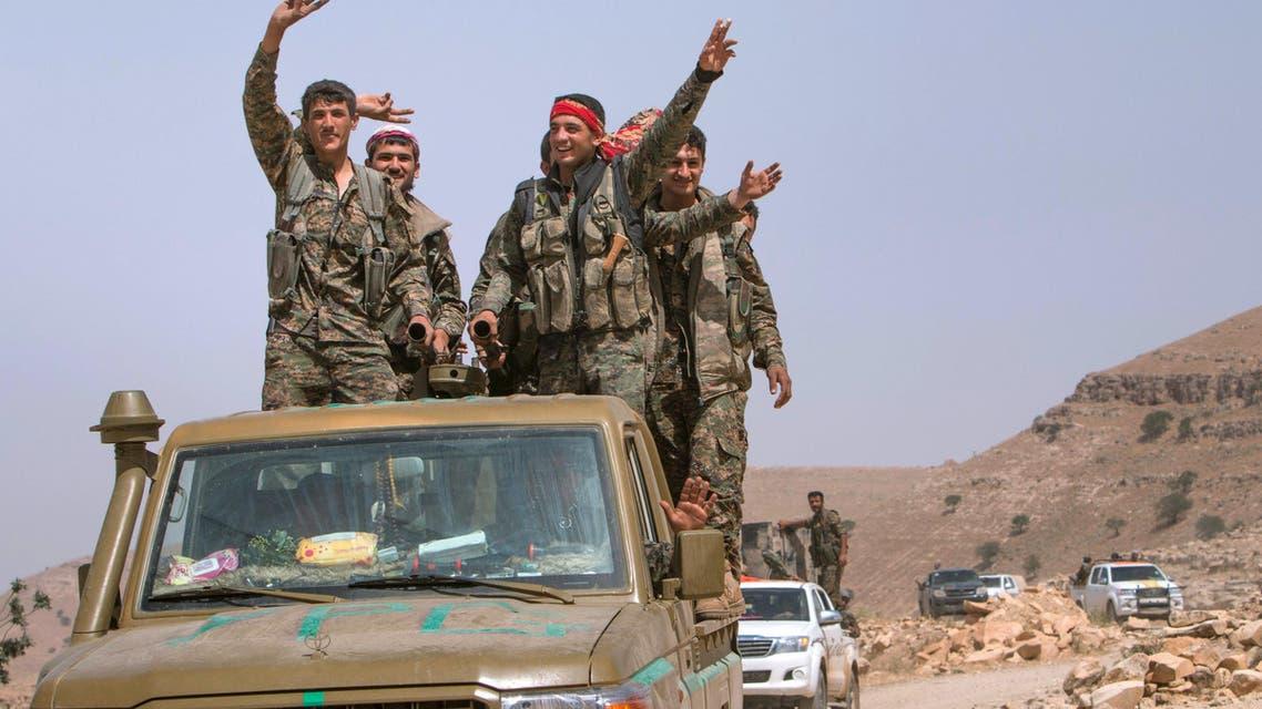 مقاتلين أكراد في سوريا