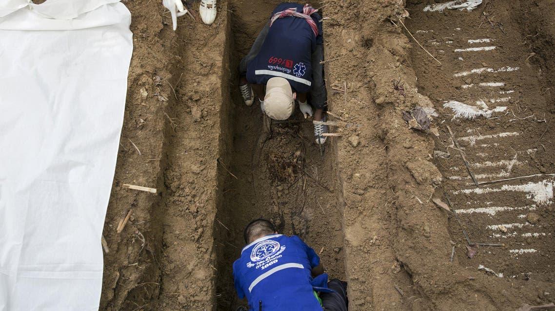 Thailand mass grave Reuters