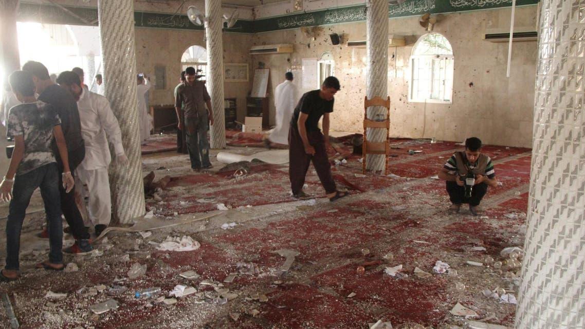saudi mosque bomb reuters