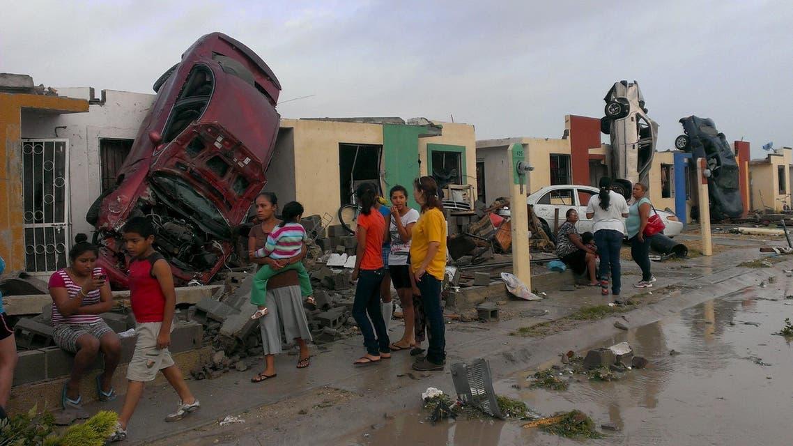 Mexico tornado reuters