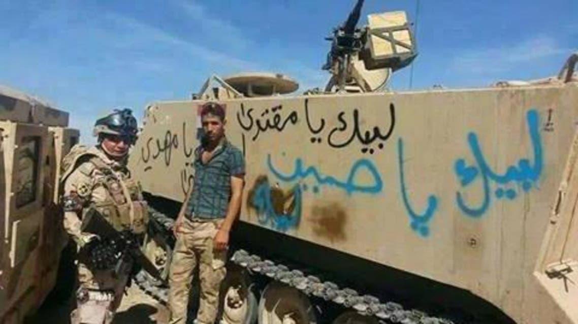 القوات الموالية لإيران تهاجم الرمادي بشعار طائفي