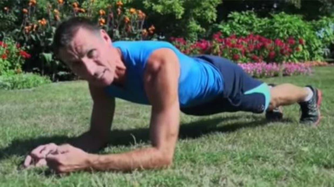 Tom Hoel plank
