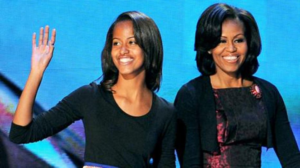 malia and michelle obama AFP