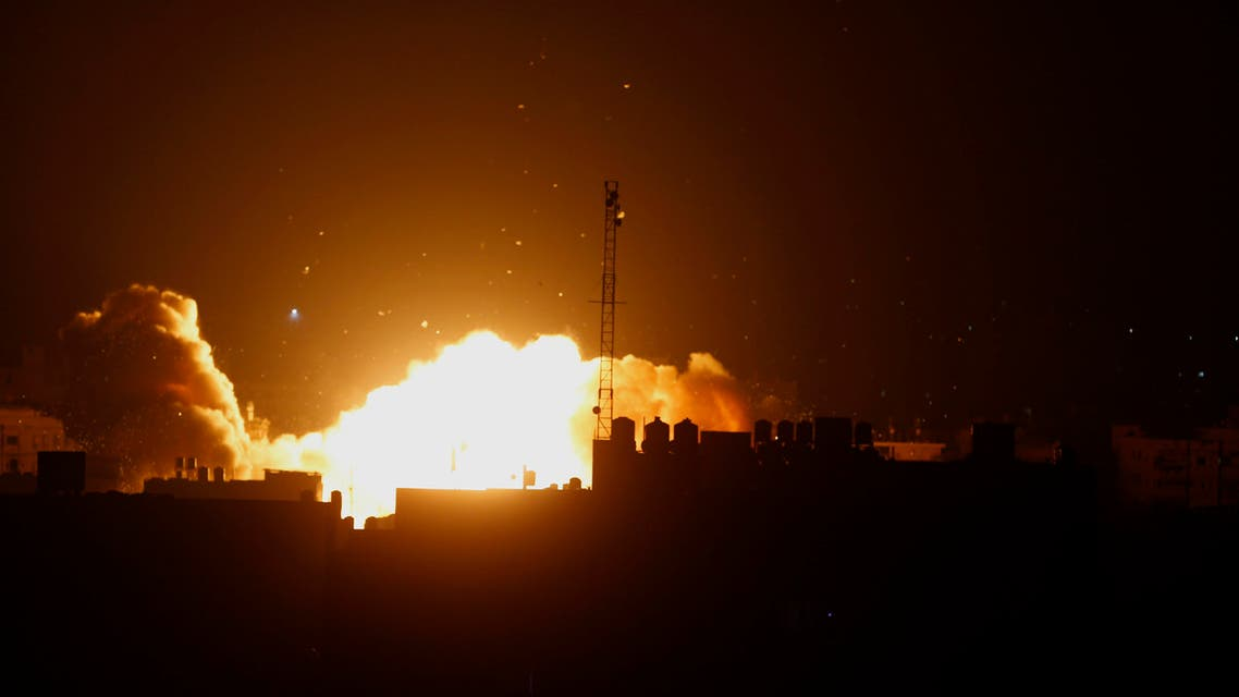 The planes targeted training camps belonging to the Islamic Jihad in Rafah, Khan Yunis and Gaza City, witnesses said. (File photo: AP)