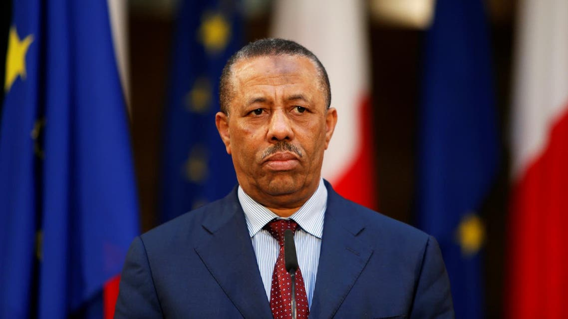 The PM has faced increasing criticism for running an ineffective rump state in the east since losing the capital Tripoli. (File photo: Reuters)